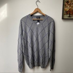 NWT Jos A Bank Traveler Merino Wool Sweater